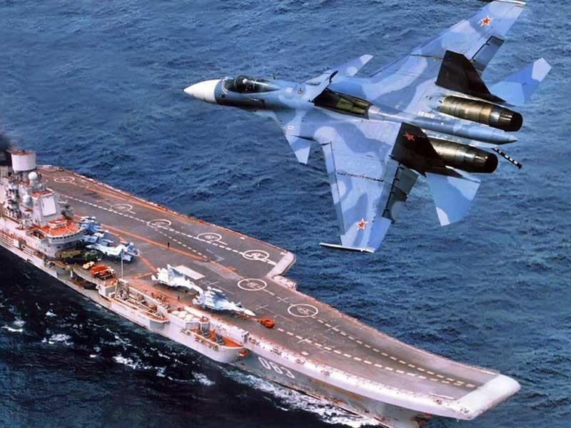 Vì sao máy bay MiG-29K rơi từ tàu sân bay Nga? - ảnh 1