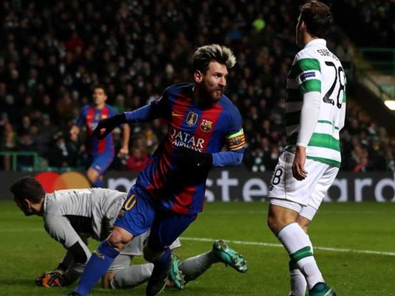 Champions League: Barca, Man.City vào vòng knock-out - ảnh 1