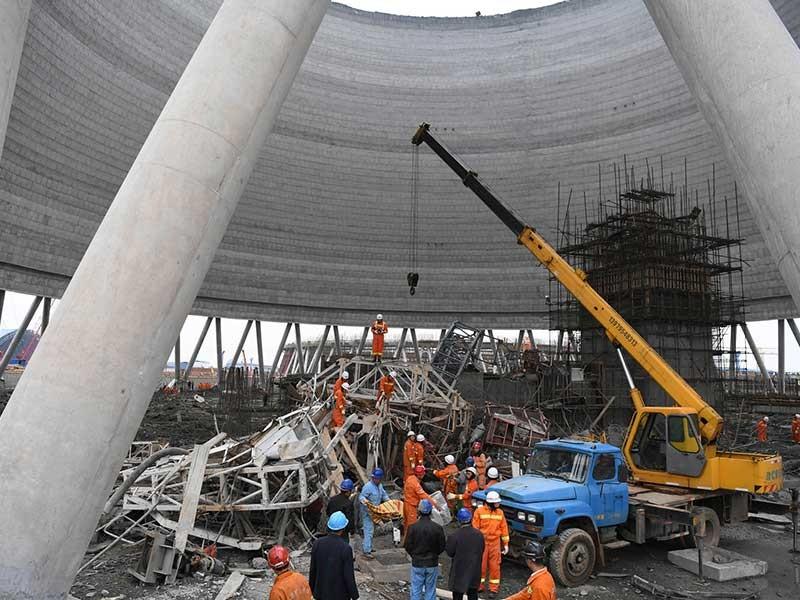 67 người chết trong tai nạn xây dựng ở Trung Quốc - ảnh 1