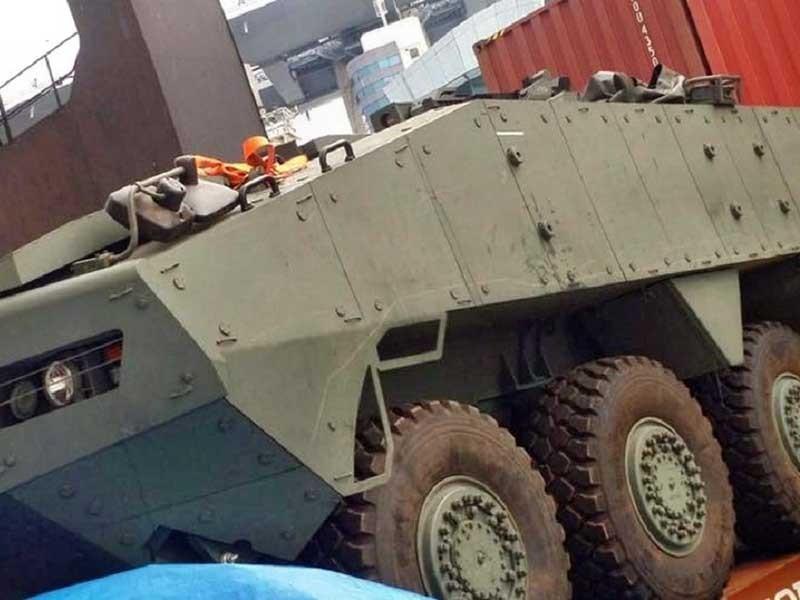 Trung Quốc và Singapore lên tiếng về 9 xe bọc thép - ảnh 1