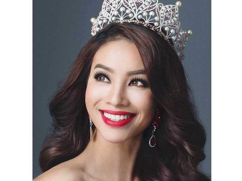 Thi Hoa hậu Hoàn vũ Việt Nam 2017 vào đầu năm - ảnh 1