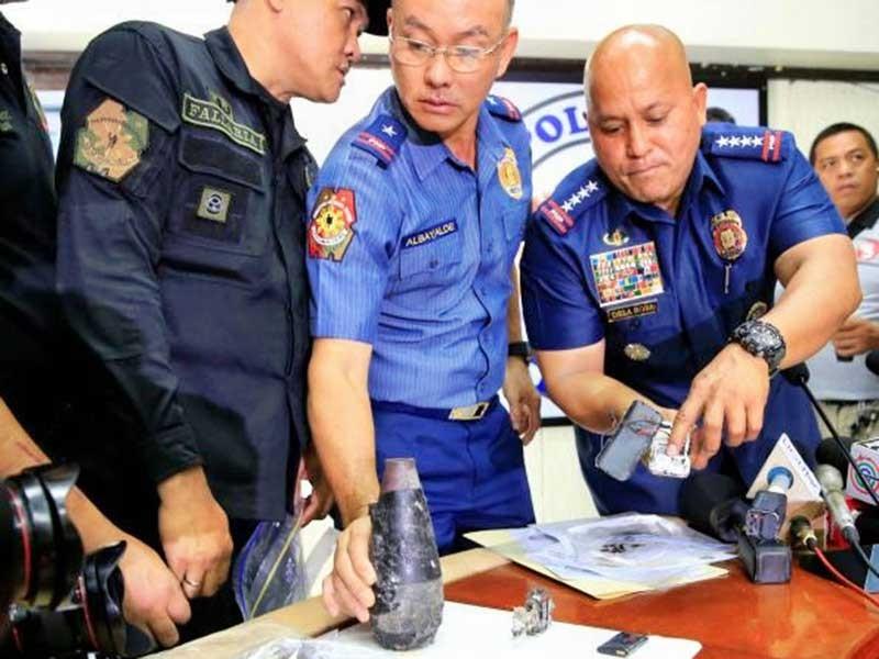 Bọn khủng bố đặt bom tự tạo ở Philippines - ảnh 1