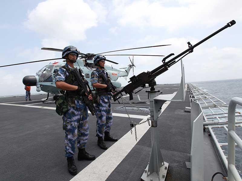 Hoạt động quân sự 2 mặt của Trung Quốc  - ảnh 1