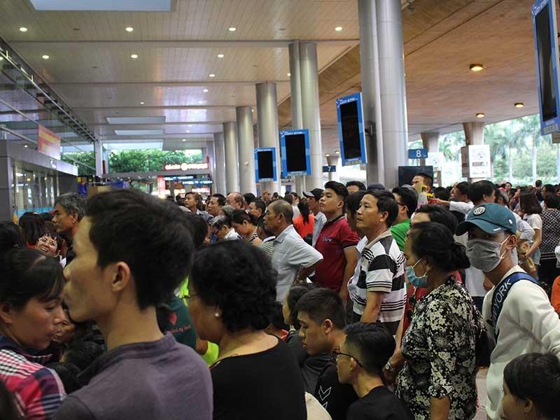 Thêm nhà ga gỡ kẹt ở sân bay Tân Sơn Nhất - ảnh 1