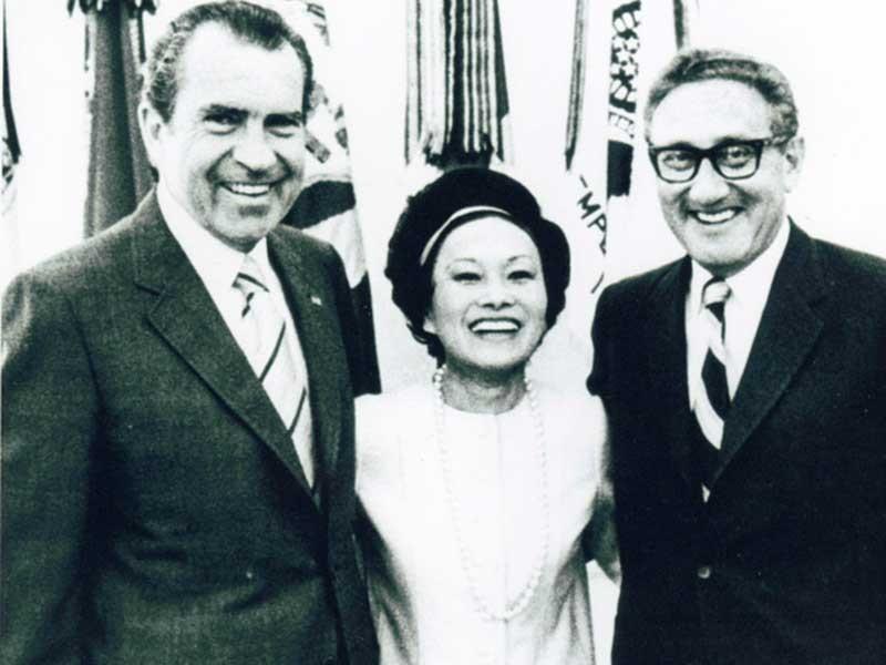 Hé lộ ghi chú tuyệt mật Nixon phá hoại hòa đàm Paris - ảnh 1