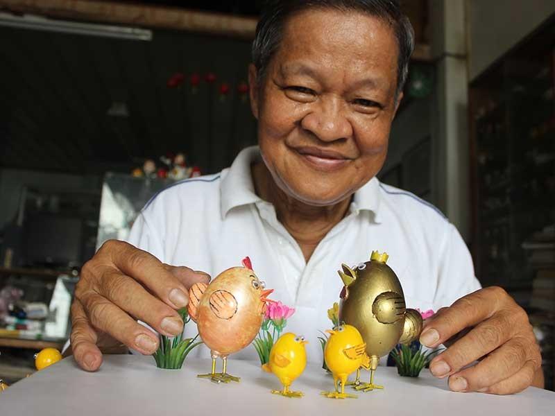 Ước mơ của người tạo ra gia đình gà hạnh phúc  - ảnh 1
