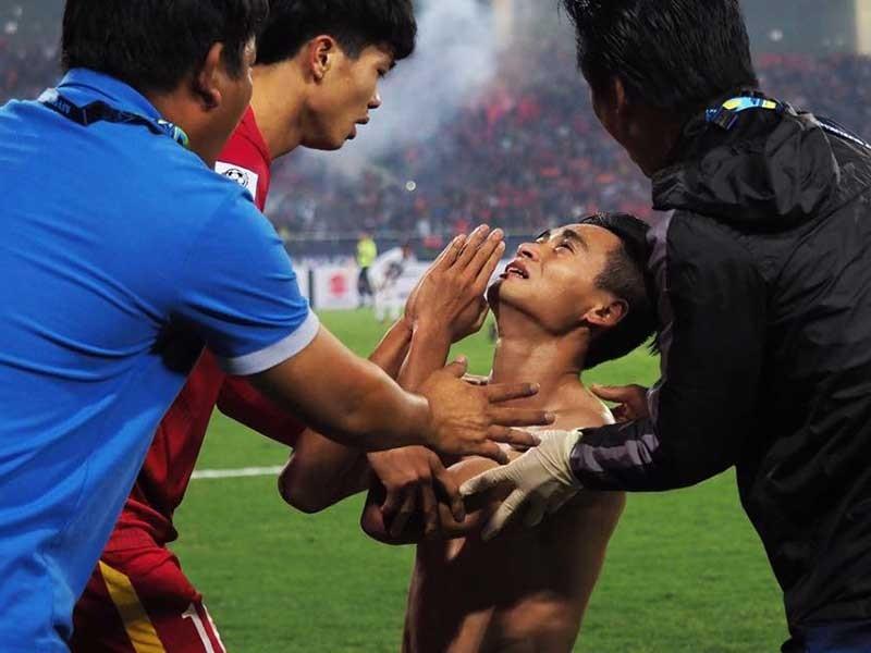 Vũ Minh Tuấn và bàn thắng tặng cha - ảnh 1