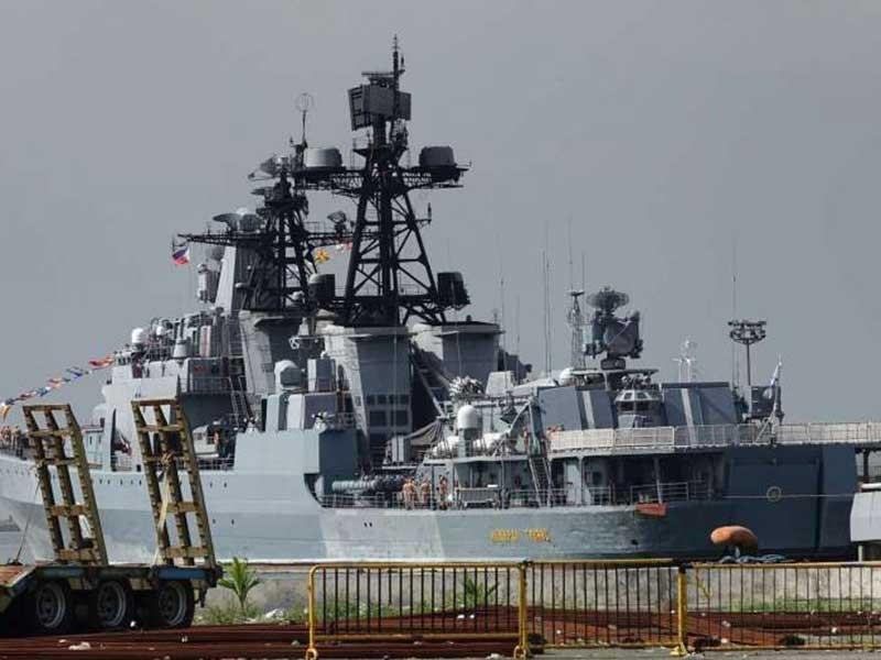 Nga muốn tập trận biển Đông với Philippines, Trung Quốc - ảnh 1