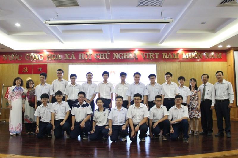TP.HCM: 184 HS tham dự kỳ thi HS giỏi quốc gia - ảnh 1