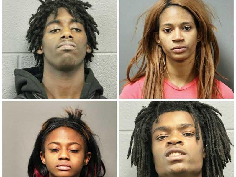 4 thanh niên da đen bị truy tố tội phân biệt chủng tộc - ảnh 1