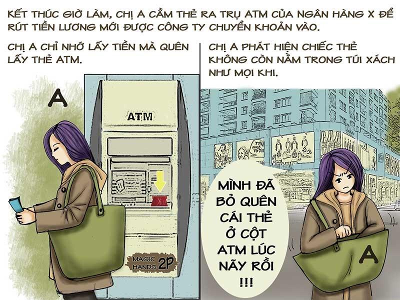 Tình huống kỳ 25: Tranh cãi tiền trong thẻ ATM bị mất - ảnh 1