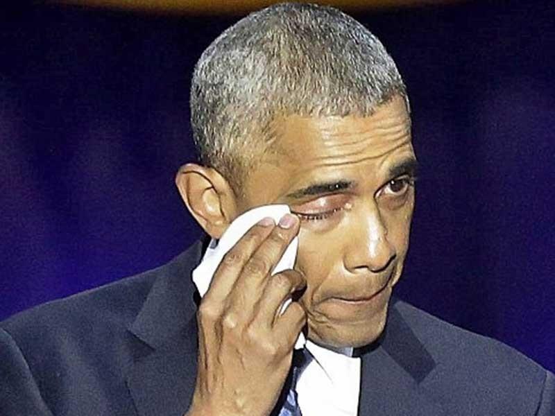 Nước mắt và hy vọng trong lời tiễn biệt của ông Obama - ảnh 1