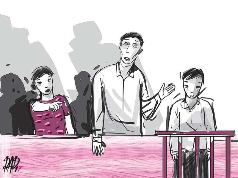 Cha mẹ bị hại cãi nhau vì... xin tha cho bị cáo - ảnh 1