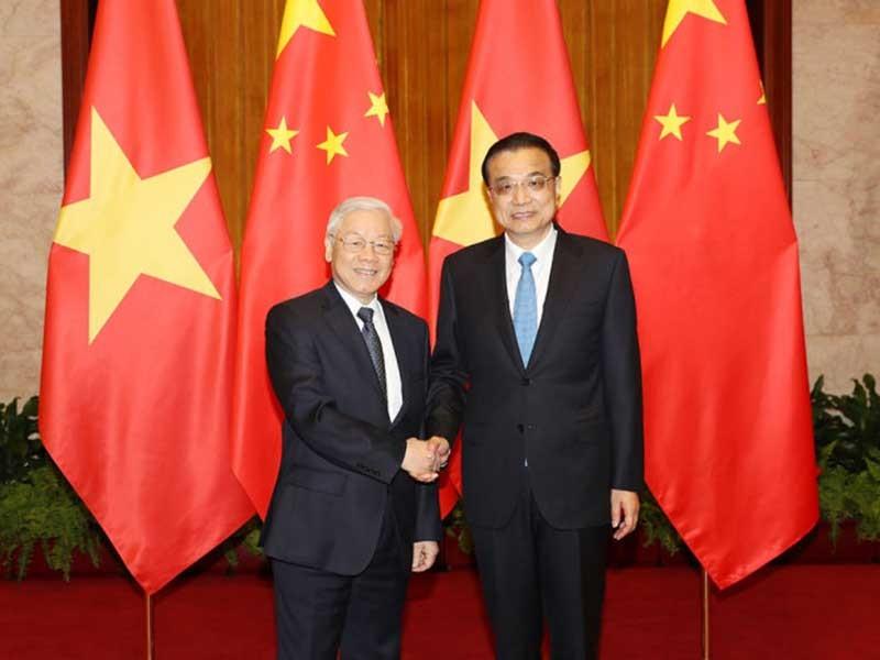 Đưa quan hệ Việt-Trung tiếp tục phát triển - ảnh 1