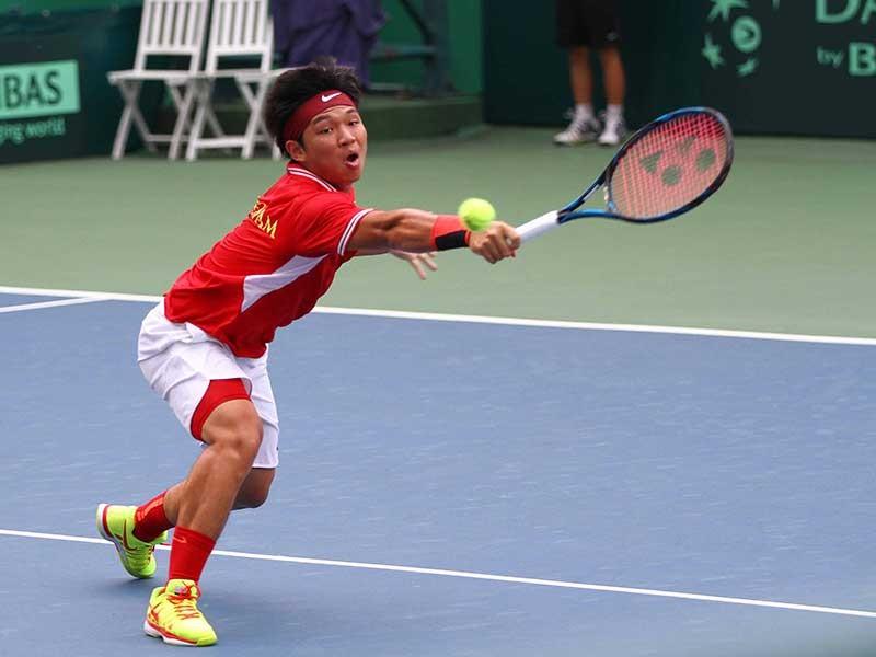 Davis Cup 2017: Hoàng Thiên thua trận ra quân - ảnh 1