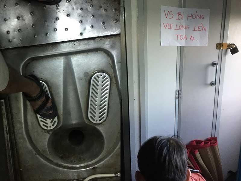 Điều khiến hành khách kinh hãi khi đi tàu - ảnh 1