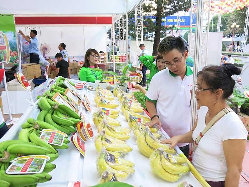 Trái cây Việt trên kệ siêu thị Nhật - ảnh 1