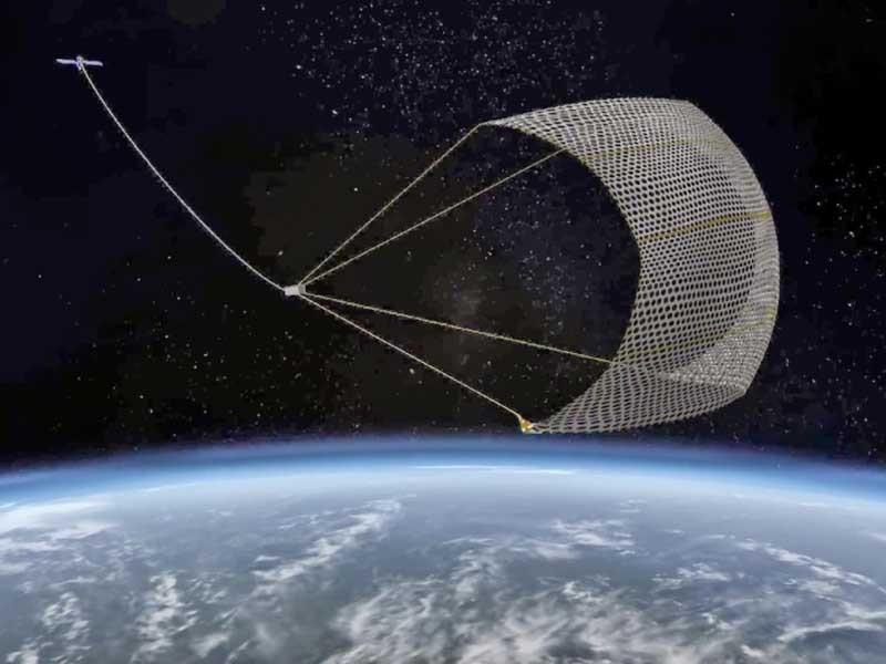 Nhật giăng lưới dọn rác không gian bất thành - ảnh 1
