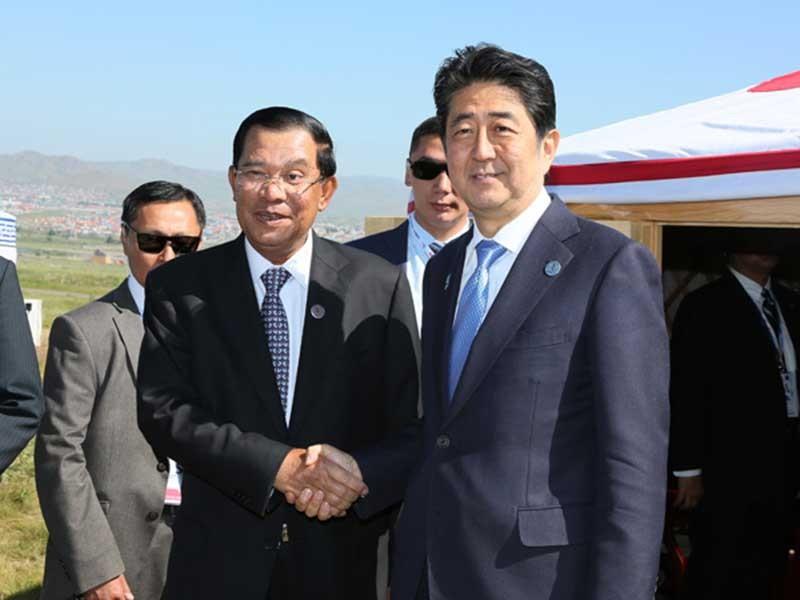 Vì sao Nhật đưa tàu chiến đến Campuchia?  - ảnh 1
