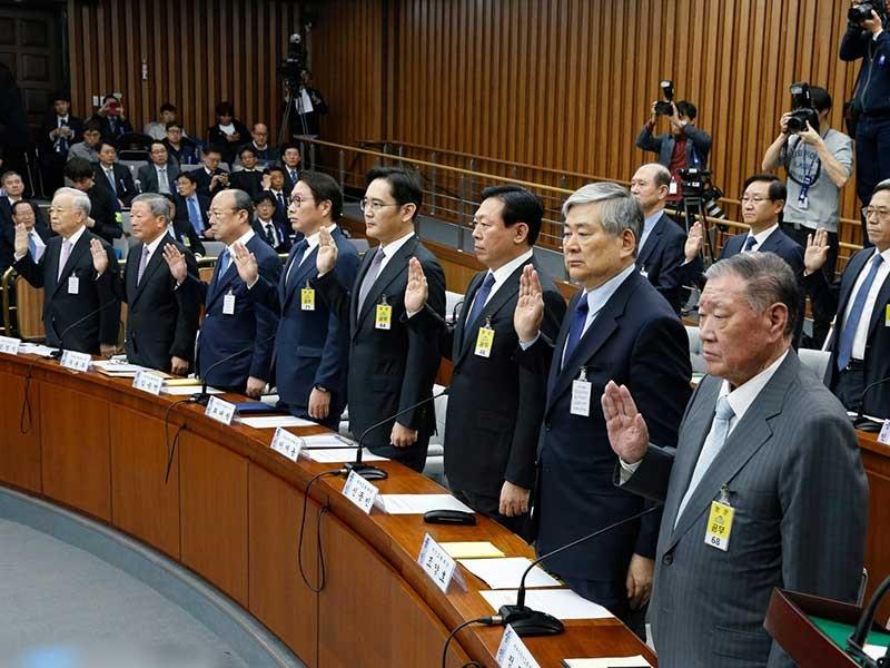 Những siêu tập đoàn gia tộc ở Hàn Quốc - ảnh 1