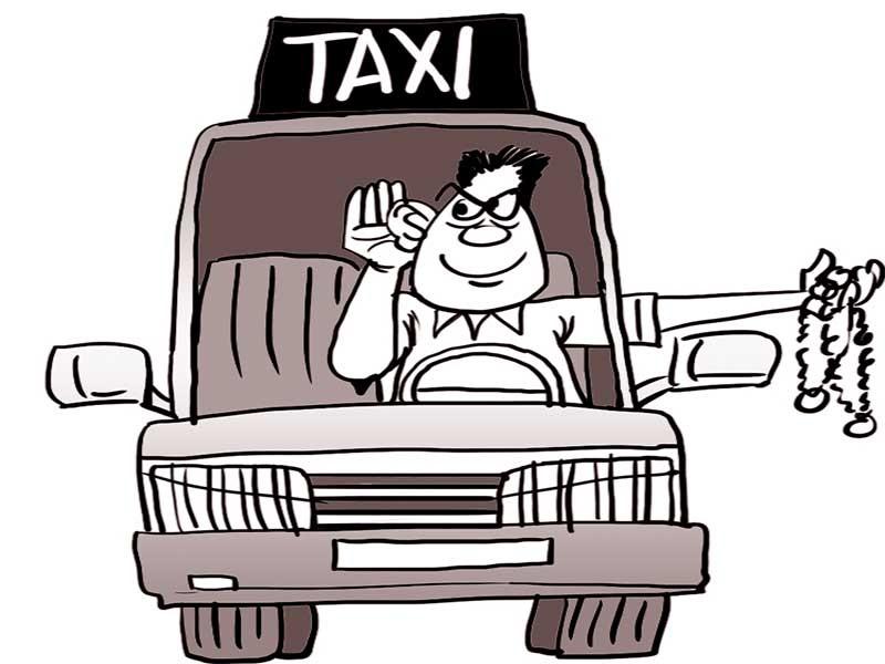 Hậu quả khi 'nhiều chuyện' với taxi - ảnh 1