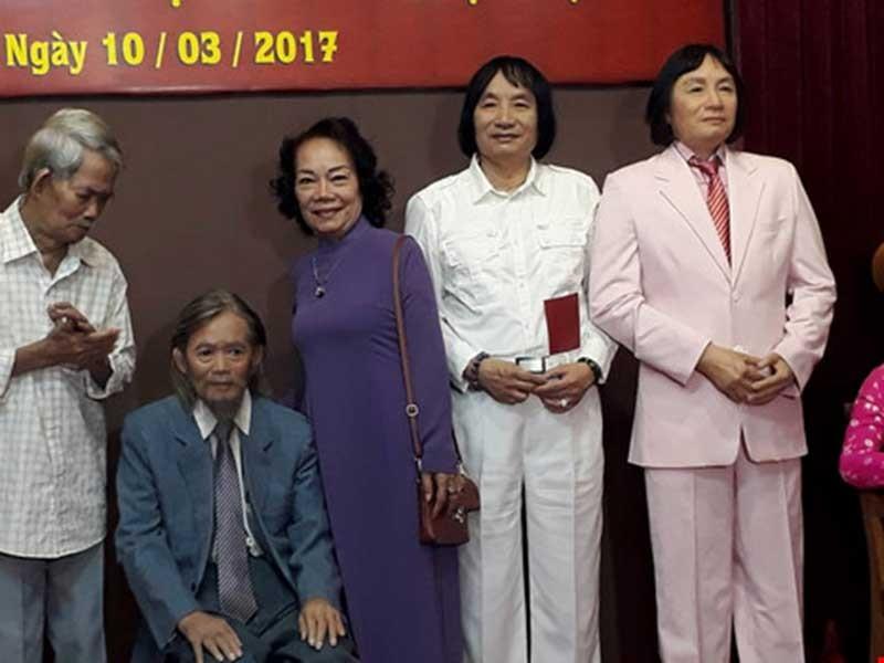 Ước mơ tượng sáp nghệ sĩ Việt đã nên hình - ảnh 1