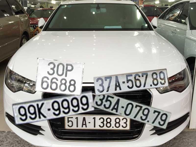 Tìm cách gỡ vướng đấu giá biển số xe đẹp - ảnh 1