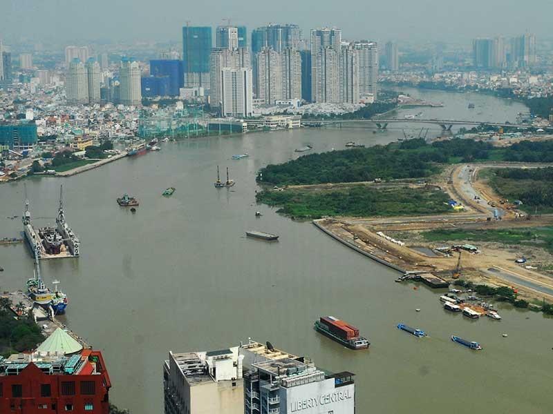 Đề xuất siêu đường ven sông dài nhất TP.HCM - ảnh 1
