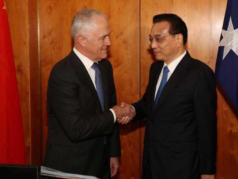 Ông Trump lơ Úc, Trung Quốc
