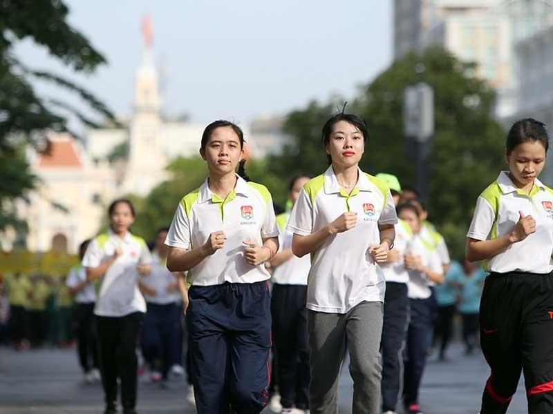Hà Nội, TP.HCM hưởng ứng Ngày chạy Olympic 2017 - ảnh 2