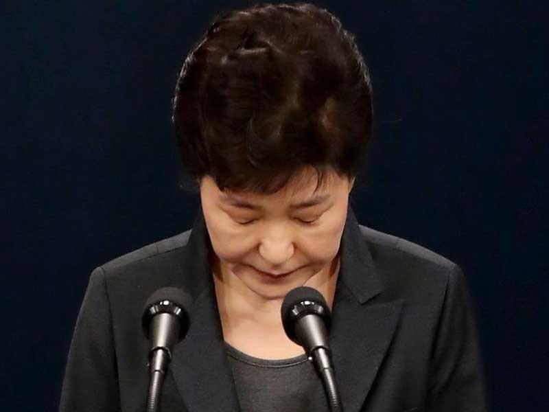 Bà Park Geun-hye trước tương lai u ám - ảnh 1
