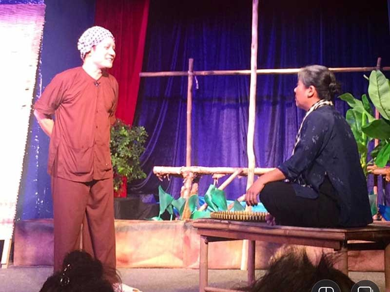 Kịch Minh Nhí tái dựng Tiếng vạc sành - ảnh 1