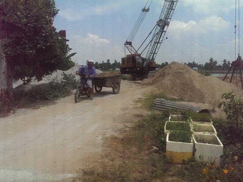 Giá cát TP.HCM tăng vùn vụt  - ảnh 2