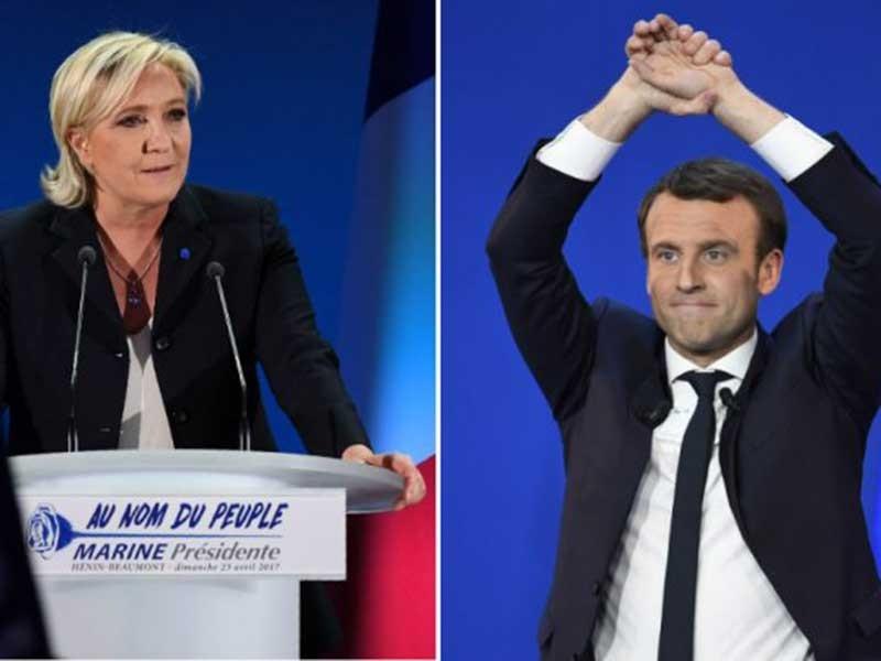 'Cuộc đua song mã' đến ghế tổng thống Pháp - ảnh 1
