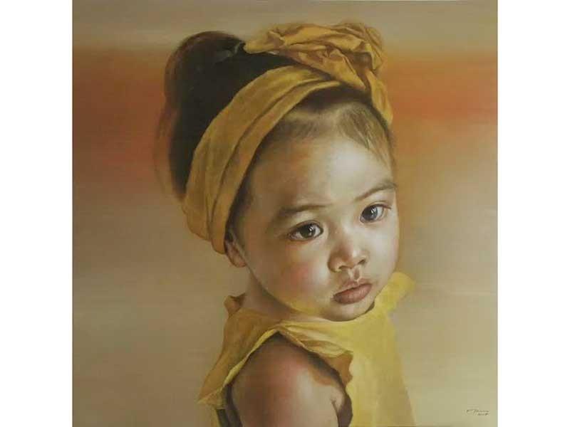 9 họa sĩ đem tranh từ vùng gió Lào đến Sài Gòn - ảnh 1