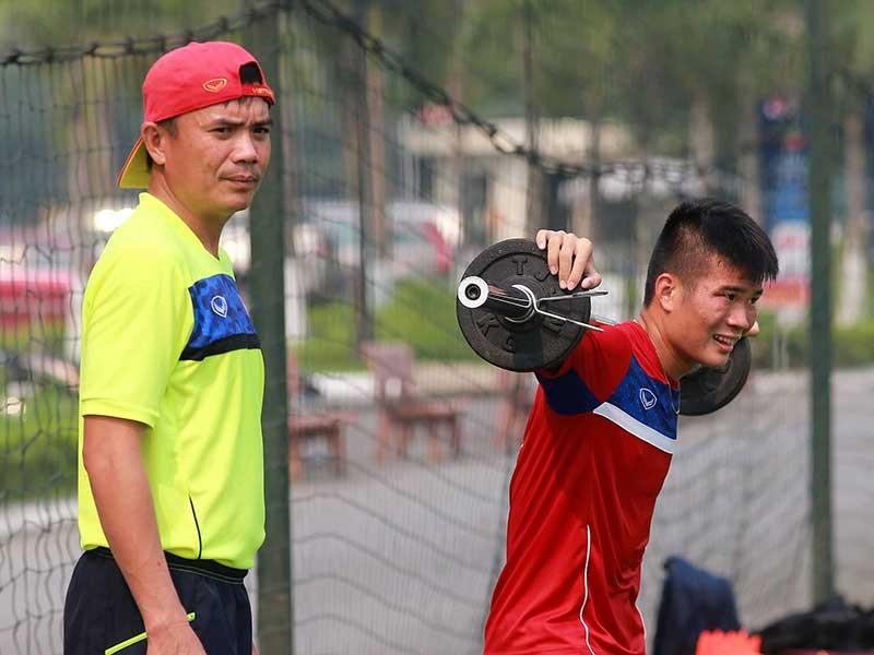 U-20 Việt Nam sát giải vẫn 'xào bài' và tập nặng  - ảnh 1