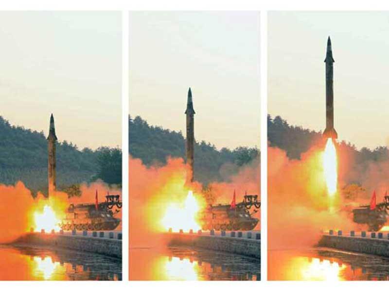 Segundo ministro da Defesa do Japão, Pyongyang em 29/5 teria lançado novo tipo de míssil