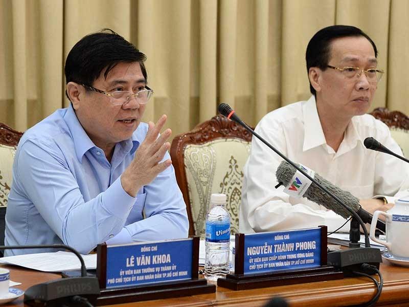 TPHCM tiếp tục kiến nghị cơ chế tài chính đặc thù - ảnh 1