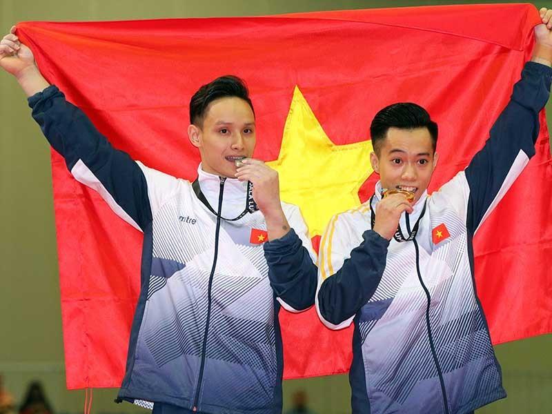 Cơn mưa vàng giúp thể thao Việt Nam lên ngôi nhì - ảnh 3