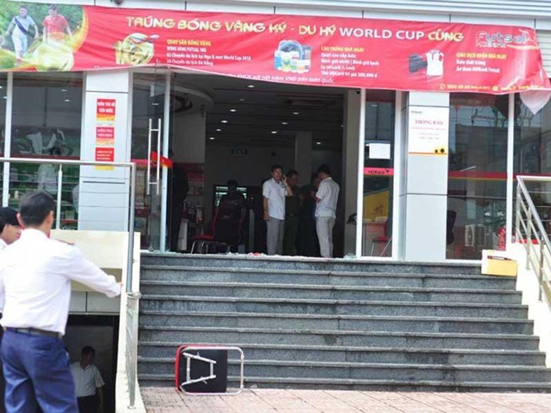 Dùng mìn giả cướp ngân hàng ở Đồng Nai - ảnh 1