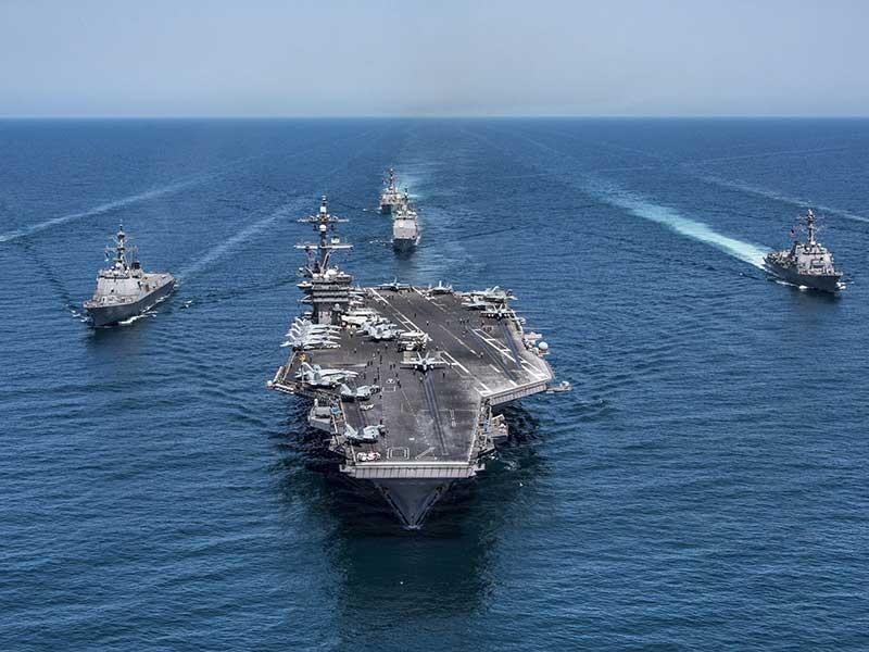 Tên lửa, tàu sân bay Mỹ sẽ đến Hàn Quốc - ảnh 1