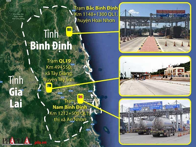 Kiến nghị giảm phí 3 trạm BOT ở Bình Định - ảnh 1