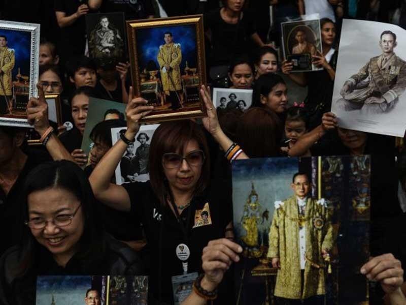 Những vị vua canh giữ hòa bình Thái Lan - ảnh 1