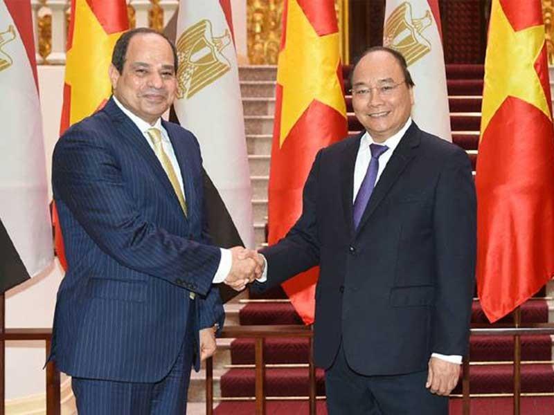 Sẽ thúc đẩy triển khai các cam kết giữa VN và Ai Cập  - ảnh 1