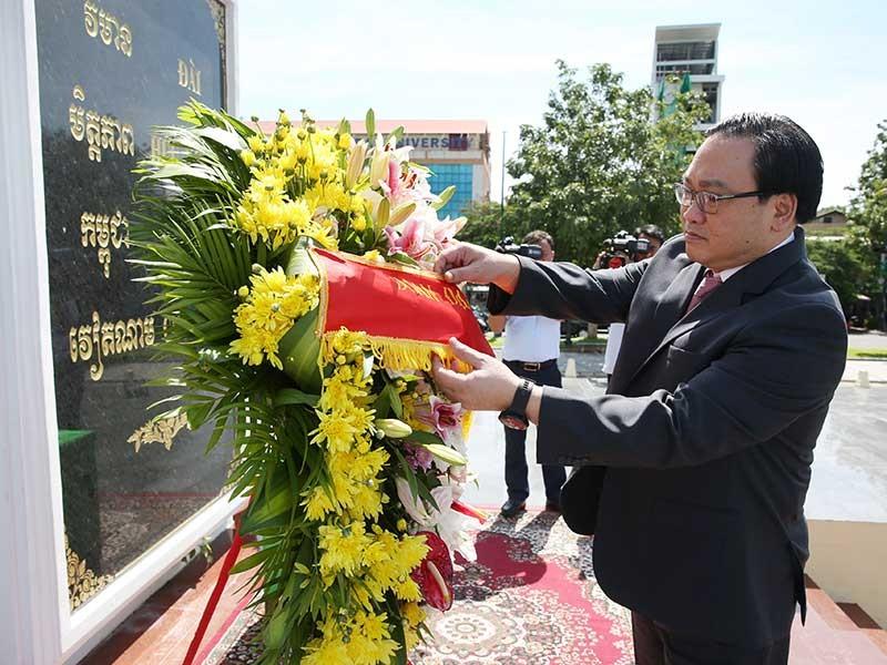 Campuchia luôn coi trọng mối quan hệ toàn diện với VN - ảnh 1