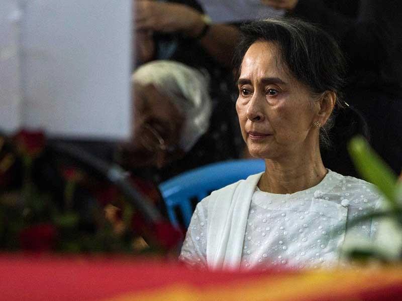 Bà Aung San Suu Kyi trước thách thức lớn - ảnh 1