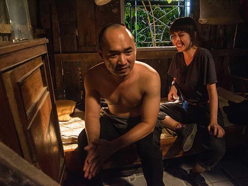 Thu Trang, Tiến Luật 'chết danh' Chí Phèo, Thị Nở - ảnh 1