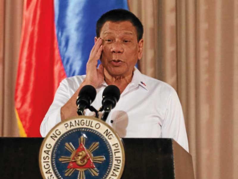 Ông Duterte bị điều tra tài chính - ảnh 1