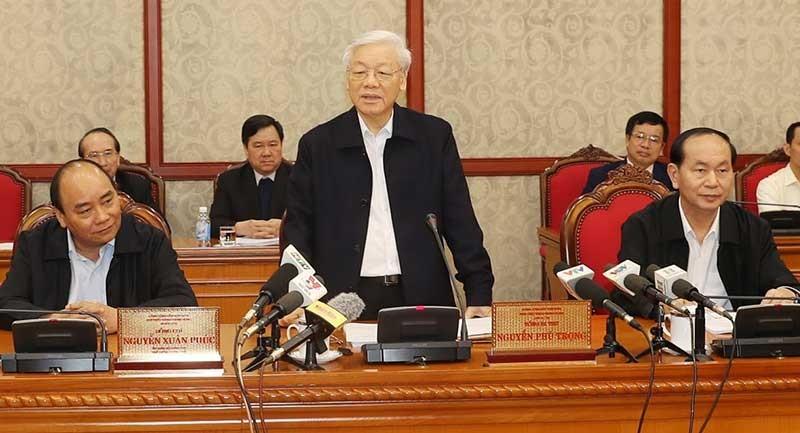 Bộ Chính trị đánh giá cao sự phát triển của TP.HCM - ảnh 1