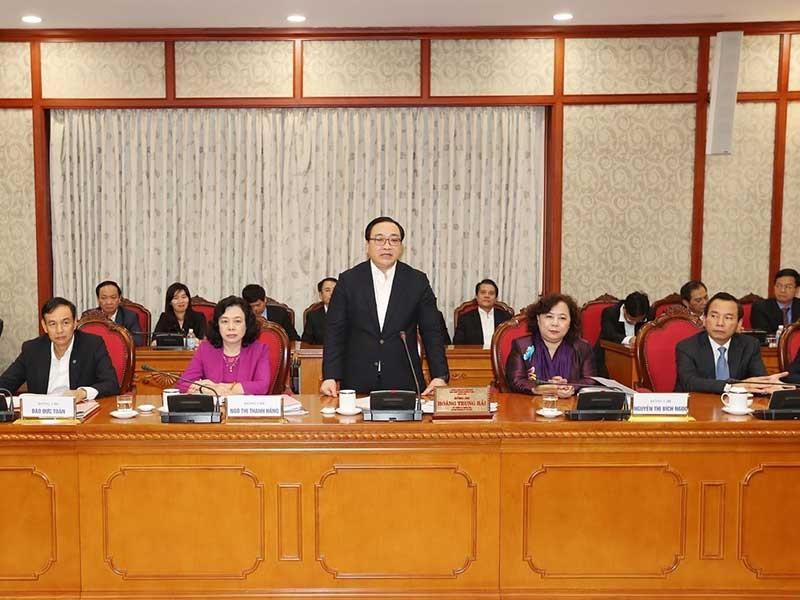 Đảng bộ Hà Nội phải là đảng bộ tiêu biểu của cả nước - ảnh 1